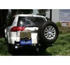 Задний бампер Kaymar Mitsubishi Pajero Sport 2010-2016