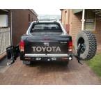 Задний бампер Kaymar Toyota Hilux 2005-2015