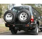 Задний силовой бампер ARB Toyota LC 80 1990-1997